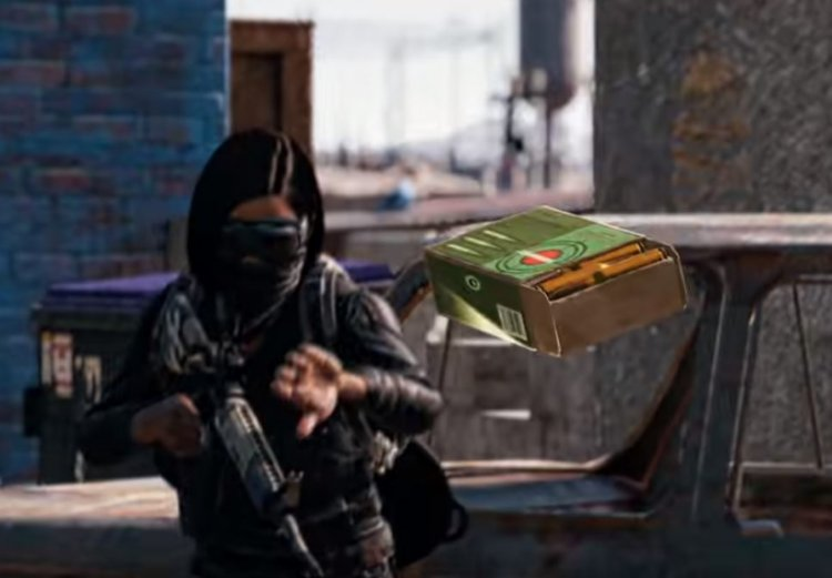 PUBG: PUBG: How to throw items, ammo and melee weapons
