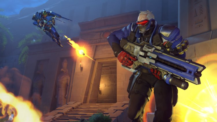What does 'diff' mean in Overwatch?
