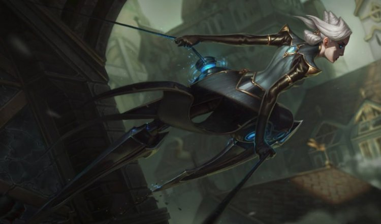 Riot dev says Akshan's grapple was originally tested for Camille 5 years ago