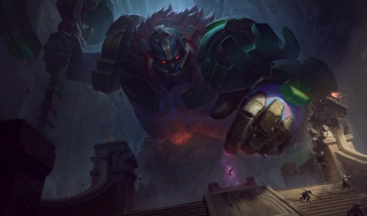 Skyscraper-sized Sion player uses Cho'Gath ult to win League's new Ultimate Spellbook game mode