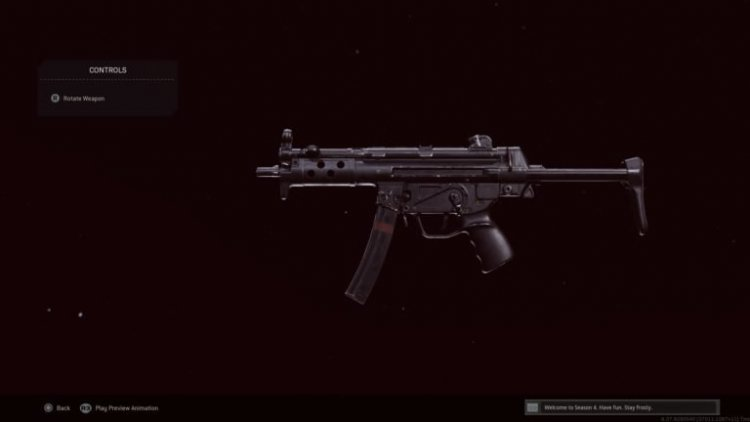 The best Cold War MP5 loadout in Call of Duty: Warzone