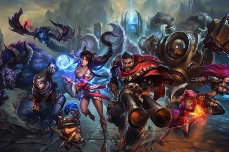 All League of Legends champion release dates