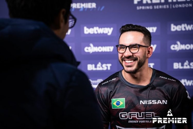 Coldzera says he's going to play in ESL Pro League Season 14