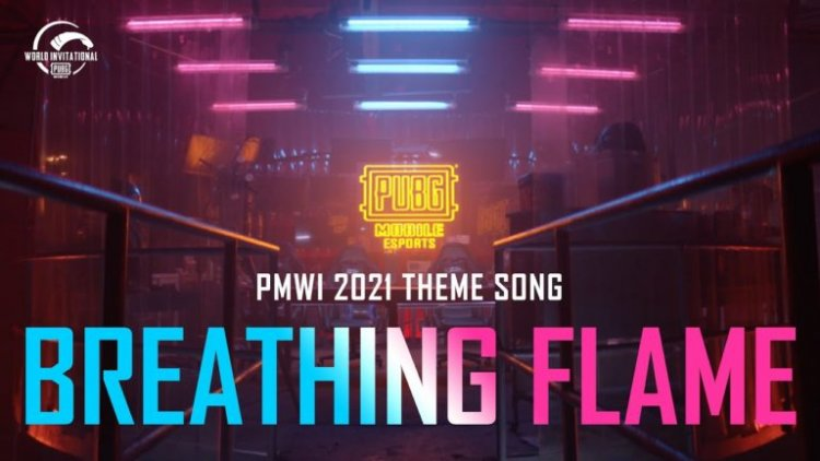PUBG Mobile World Invitational's theme song, Breathing Flame, debuts