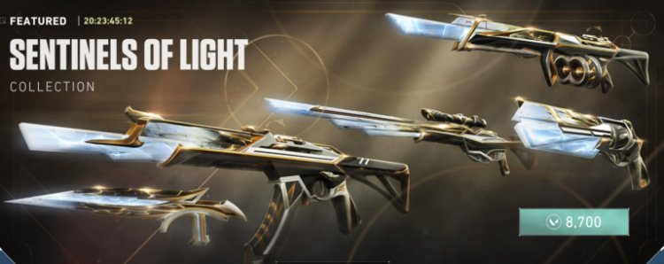 VALORANT's Sentinels of Light skins are now live