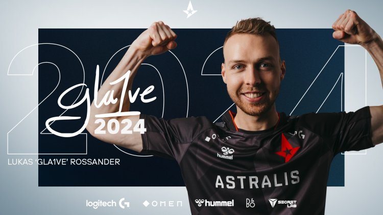 Gla1ve renews with Astralis for 3 years