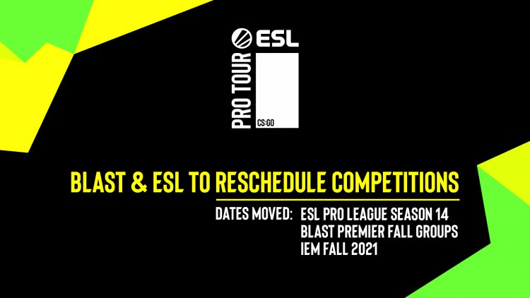 BLAST & ESL reschedule competitions and looking to take a collaborative approach to future governance