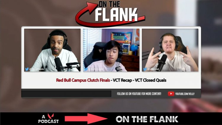 """""""Hot dudes talking hot topics"""" – New VALORANT podcast 'On The Flank' ft Velly, Upmind, and Sully"""