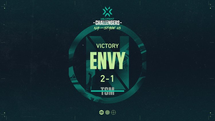 Stage 3 Finals: Envy defeat TSM 2-1, and are one win away from Masters Berlin
