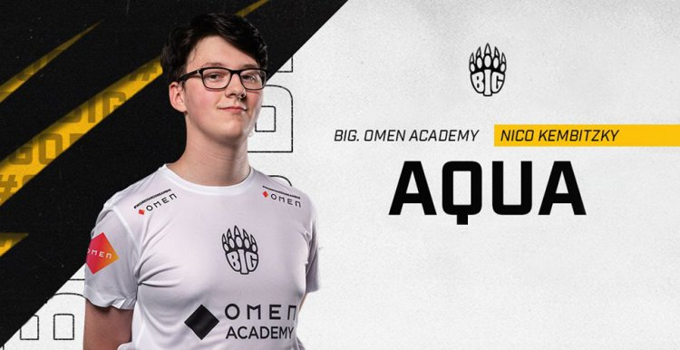 """BIG Academy's aqua: """"M0NESY could become the new s1mple"""""""