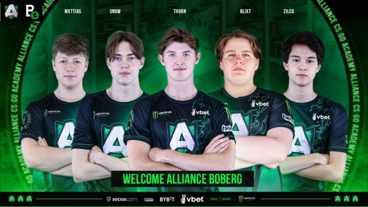 Alliance enters CS:GO with Academy Roster